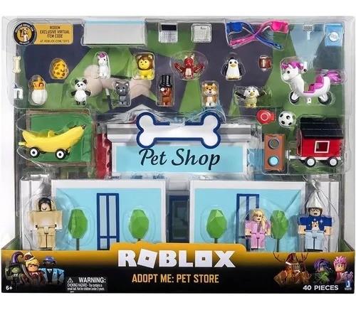 Roblox - Playset Pet Shop Adote-me – 40 peças - Sunny