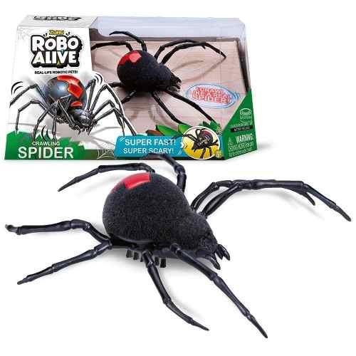 Robô Alive Realístico - Aranha – Super Rapida e Assustadora- Dtc