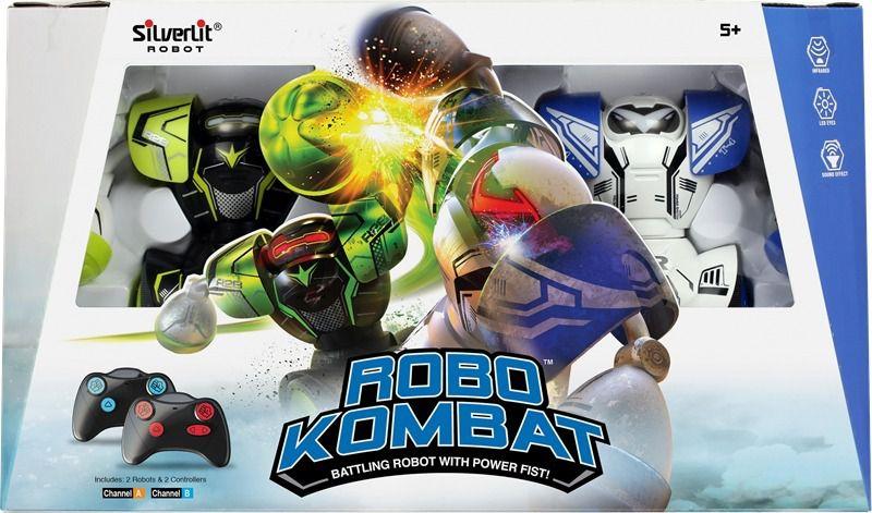 Robô Kombat de batalha Boxeadores Silverlit C/ controle remoto - DTC