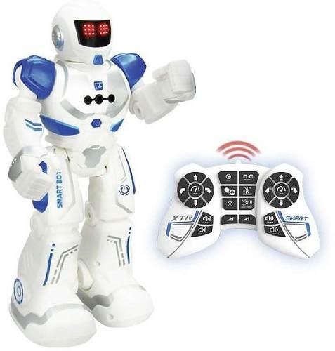 Robô Smart  Xtrem Bots - Controle Remoto 20 funcões –   Led Facial , Controle por gestos , Som  - Fun