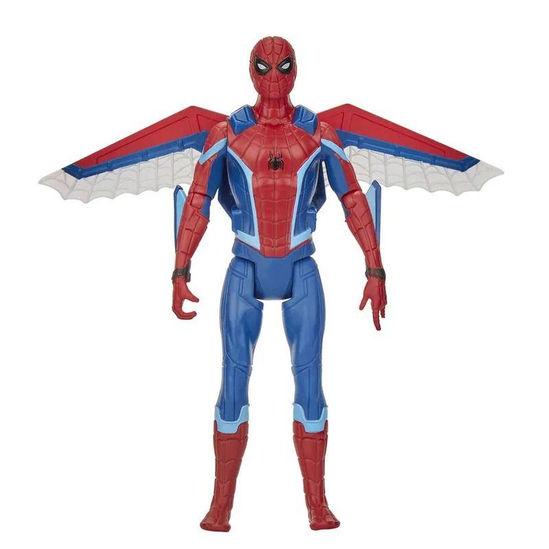 Spider-Man Longe de Casa – Boneco SpiderMan Articulado com Asas 15 cm - Hasbro