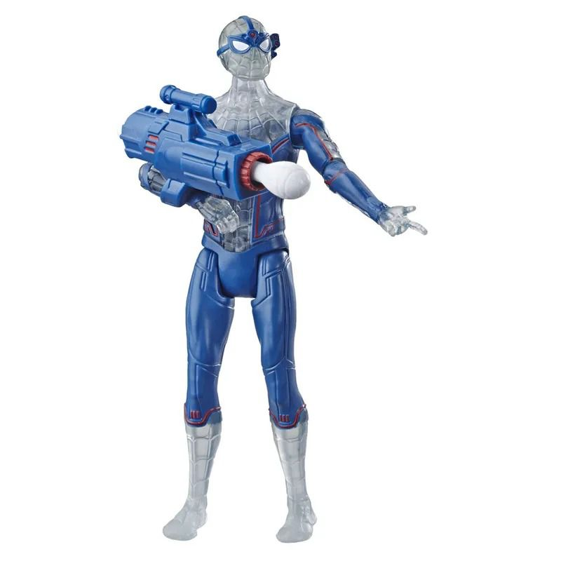 Spider-Man Longe de Casa – Boneco SpiderMan Concept Com lançador 15 cm - Hasbro