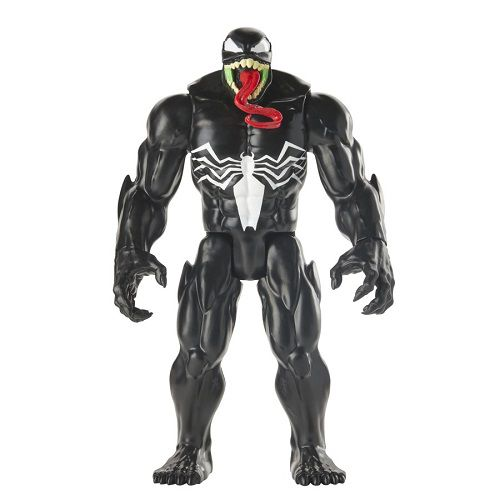 Spiderman Boneco Titan Hero Maximum Venom Articulado 30 cm Hasbro