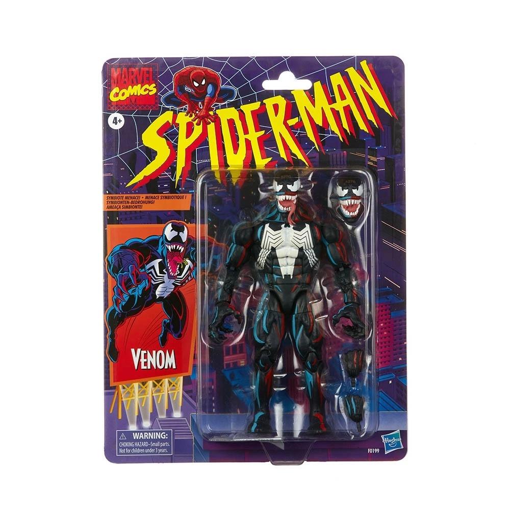 Spiderman Marvel Legends Series Retro Venom SDCC -  Hasbro