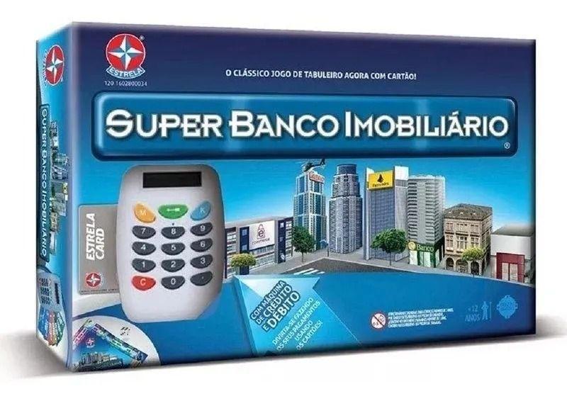 Super Banco Imobiliário Com Maquininha Estrela Card- Estrela