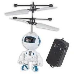 Super Flyer - Mini Robo Controle Remoto – Voa Com Sensor e luz - Braskit