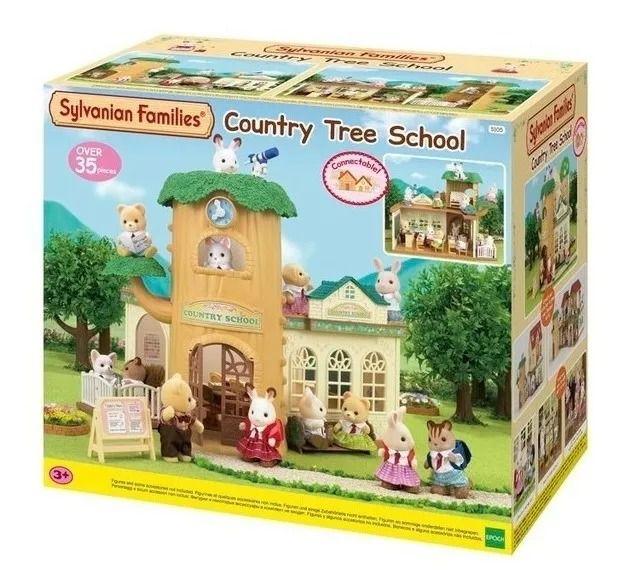 Sylvanian Families - Escola Na Árvore – 35 peças – Epoch