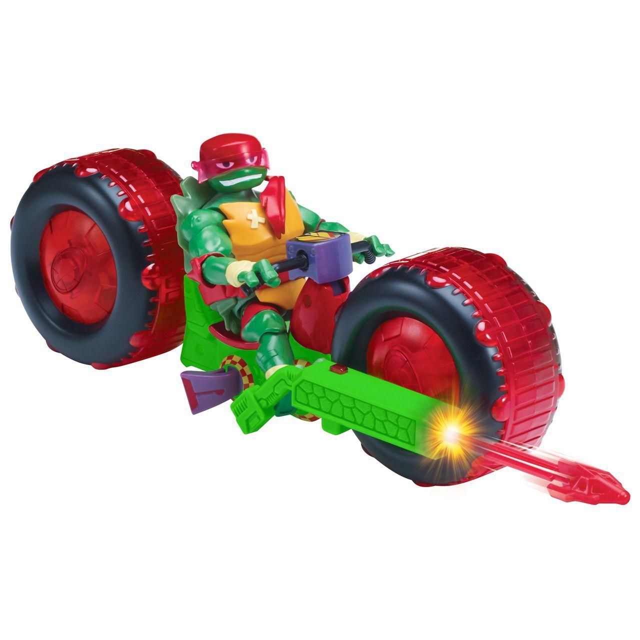 Tartarugas Ninja Ascensão – Veículo Moto Shell Hog Com Boneco Raphael - Sunny