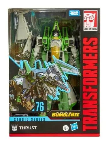Transformers Bumblebee Studios Series Class Voyager 76  Thrust - Hasbro