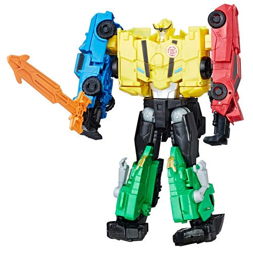 Transformers CombinerForce Luxo Indisguise Ultra Bee  – 4 Robos  - Hasbro
