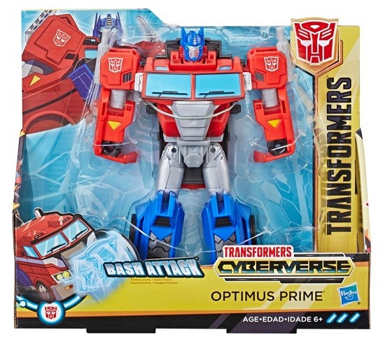 Transformers Cyberverse Ultra – Bash Attack – Optimus Prime 19 cm – Hasbro