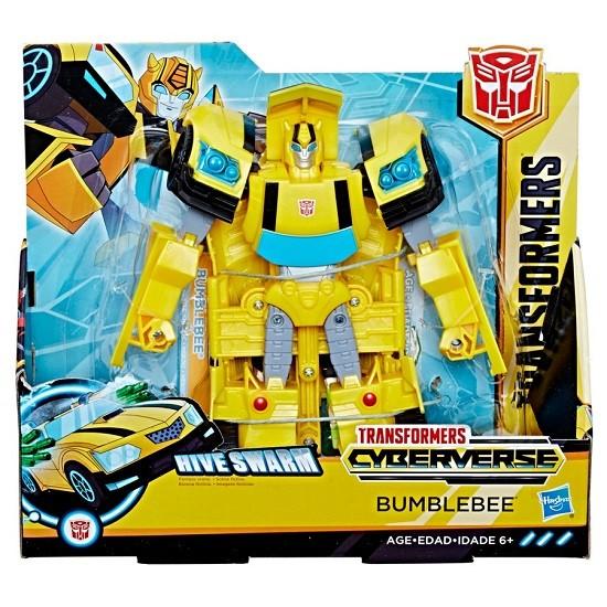 Transformers Cyberverse Ultra – Hive Swarm – Bumblebee 19 cm – Hasbro
