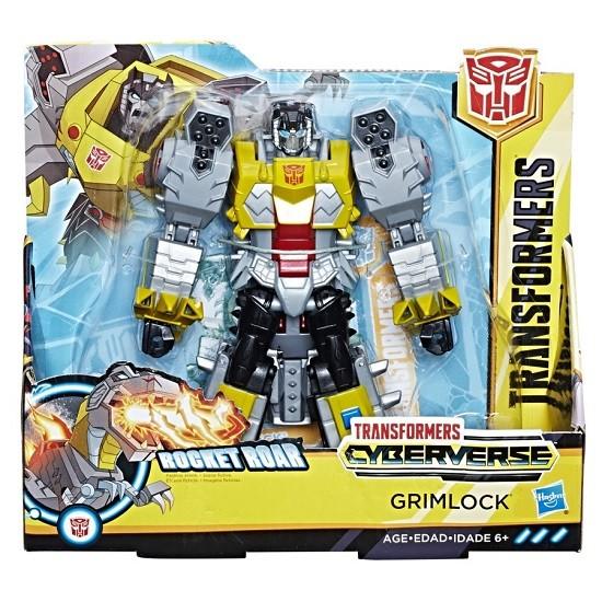 Transformers Cyberverse Ultra – Rocket Roar – Grimlock 19 cm – Hasbro