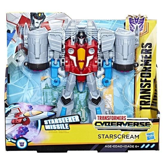 Transformers Cyberverse Ultra – Starseeker Missile – Starscream 19 cm – Hasbro