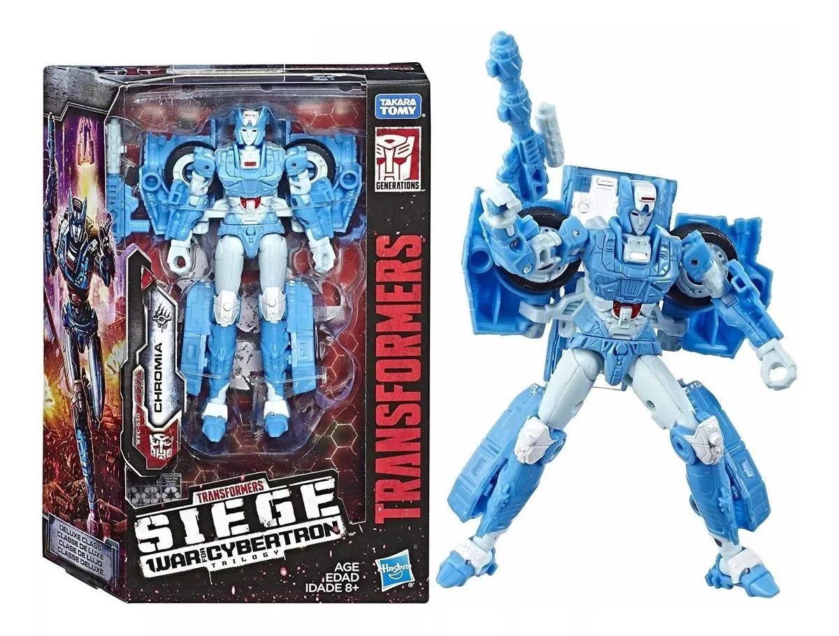 Transformers Deluxe Siege War for Cybertron Trilogy WFC-S20 Chromia 13cm – Hasbro