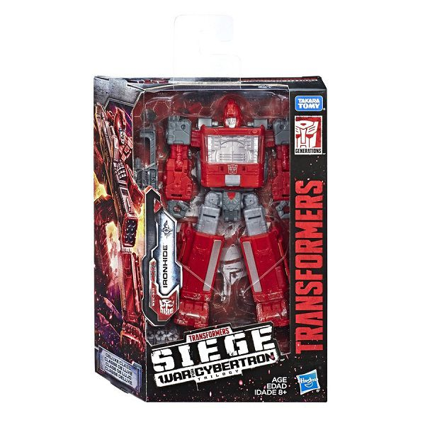 Transformers Deluxe Siege War for Cybertron Trilogy WFC-S21 Ironhide 13cm – Hasbro  - Doce Diversão