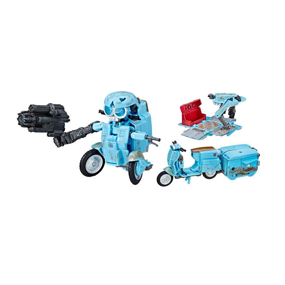 Transformers Filme 5 Deluxe Autobot Sqweeks 3 modos 10 cm - Hasbro