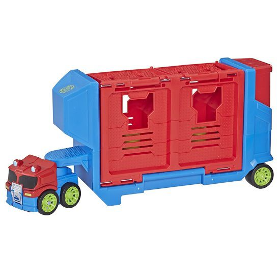 Transformers Playskool Rescue Bots Optimus Prime Carreta Lançadora  Hasbro