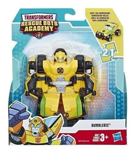 Transformers Rescue Bots Academy 2 Em 1- Bumblebee 13Cm - Hasbro