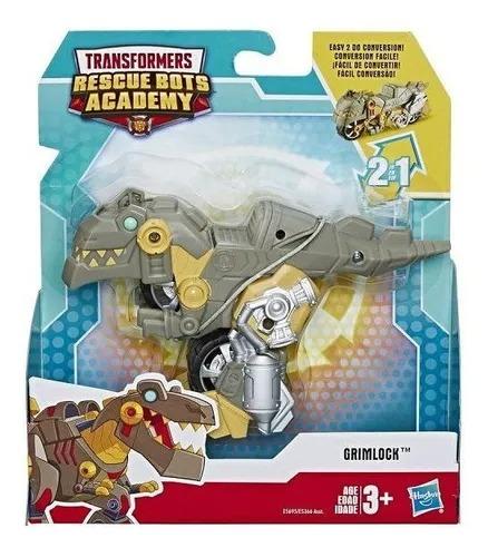 Transformers Rescue Bots Academy 2 Em 1- Grimlock 13Cm - Hasbro