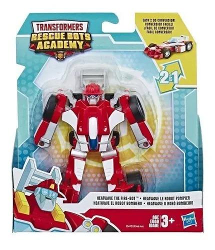 Transformers Rescue Bots Academy 2 Em 1- Heatwave 13Cm - Hasbro