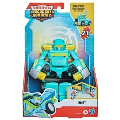 Transformers Rescue Bots Academy  Hoist o Robô Guincho 16 cm  2 em 1  Hasbro