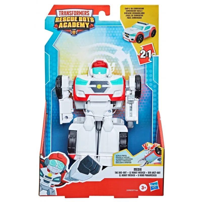 Transformers Rescue Bots Academy – Medix o Robô Paramédico 16 cm – 2 em 1 – Hasbro