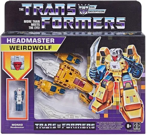 Transformers Retro Decepticon Headmaster Monxo - Weirdwolf - Hasbro