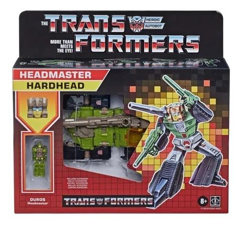 Transformers Retro Heroic Autobot Headmaster Duros - Hardhead - Hasbro
