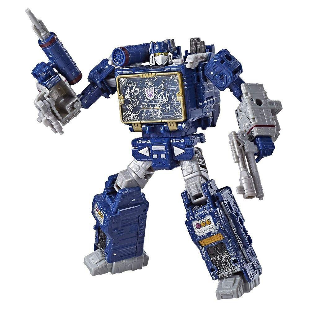 Transformers Voyager Siege War for Cybertron Trilogy WFC-S25 Soundwave 17 cm – Hasbro
