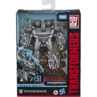 Transformers Studio Series 51 Classe Deluxe - Soundwave – Hasbro