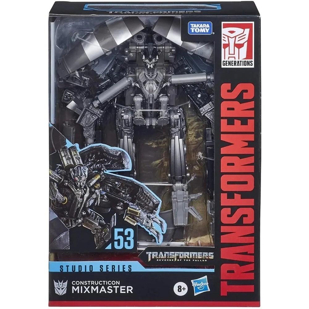 Transformers Studio Series 53 Deluxe – Constructicon MixMaster - Hasbro