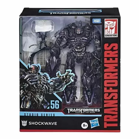 Transformers Studio Series 56 Deluxe Classe Leader - Shockwave - Hasbro