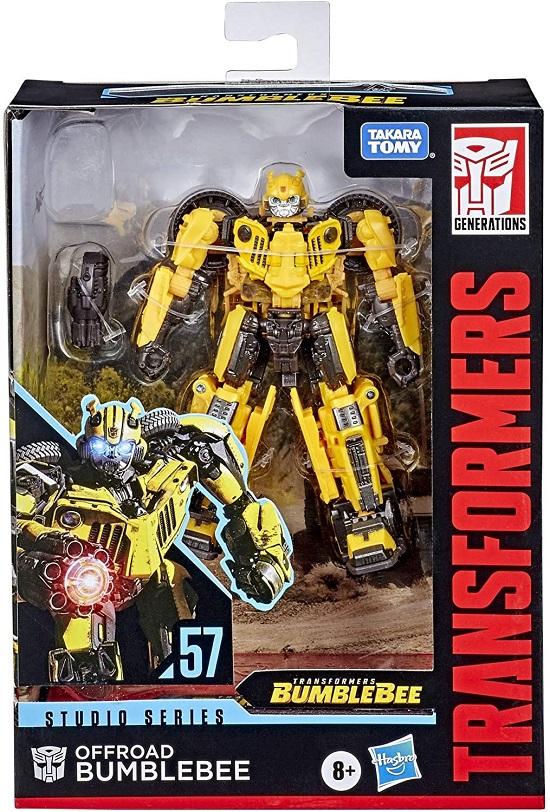 Transformers Studio Series 57 Classe Deluxe - Offroad Bumblebee – Hasbro