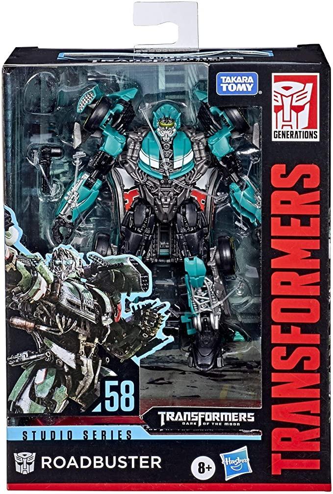 Transformers Studio Series 58 Classe Deluxe - Roadbuster  – Hasbro