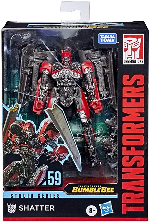 Transformers Studio Series 59 Classe Deluxe - Shatter – Hasbro