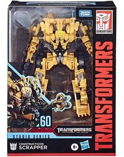 Transformers Studio Series 60 Deluxe – Constructicon Scrapper  - Hasbro