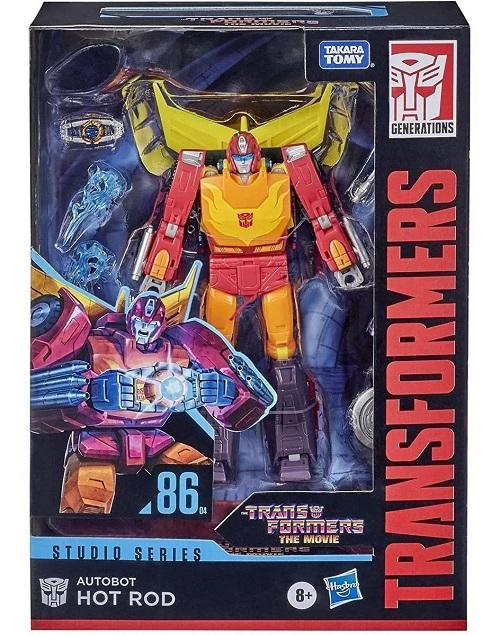 Transformers Studios Series Class Voyager 86-04 Autobot Hot Rod - Hasbro