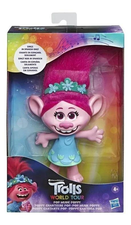 Trolls 2 World Tour Pop Poppy Cantora – Hasbro
