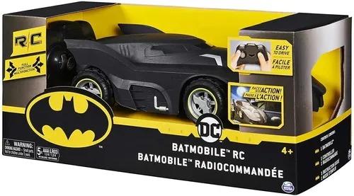 Veiculo DC Batman Batmovel 23cm C/ Controle Remoto   - Sunny