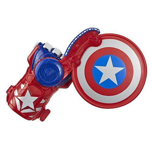Vingadores Capitão America – Luva Mão Lançador Escudo Nerf   Hasbro