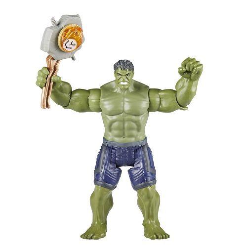 Vingadores Guerra Infinito Hulk Deluxe 15 cm C/joia Hasbro
