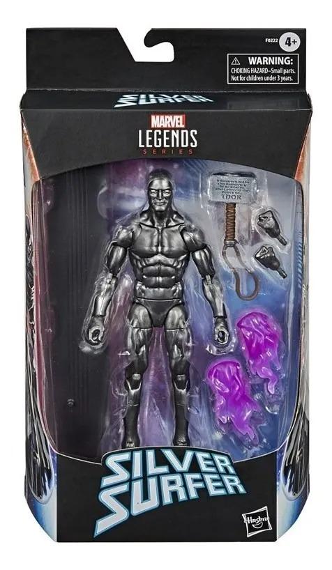 Vingadores Marvel Legends Surfista Prateado E Mjolnir ( Martelo Thor) – Hasbro