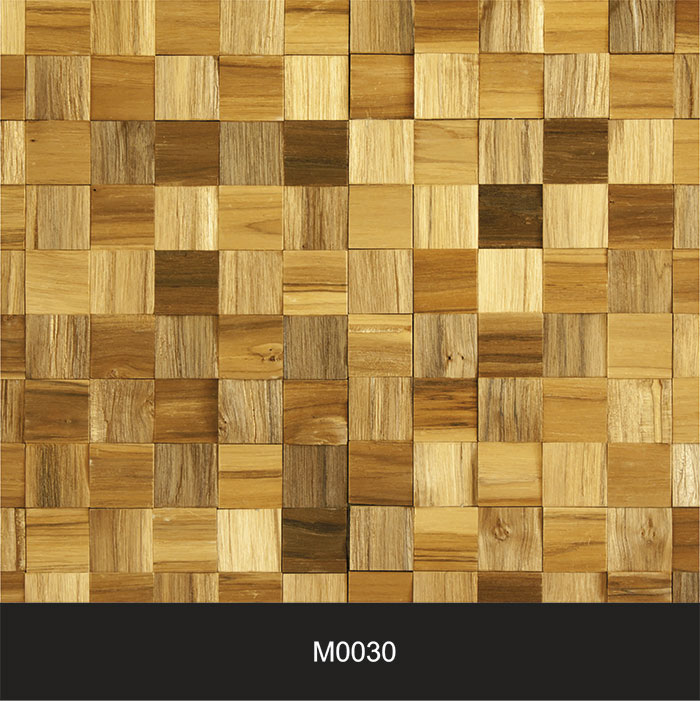 Papel de Parede  Adesivo Madeira 0030 Cubos  - Final Decor