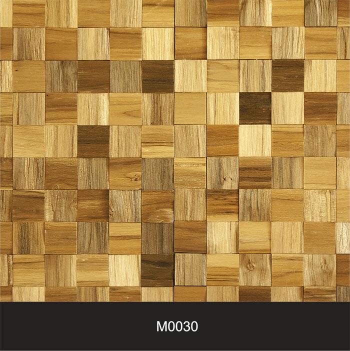 Papel de Parede  Adesivo Madeira Cubos M0030  - Final Decor