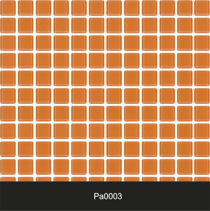 Papel de Parede Auto Adesivo Lavável Pastilha Pa0003 Laranja  - Final Decor
