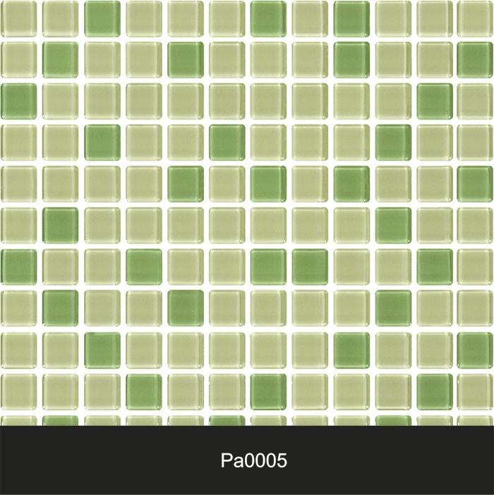 Papel de Parede Auto Adesivo Lavável Pastilha Pa0005 Verde  - Final Decor