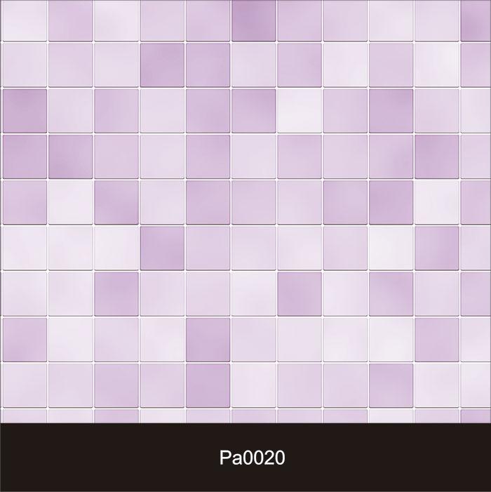 Papel de Parede Auto Adesivo Lavável Pastilha Lilás Pa0020  - Final Decor