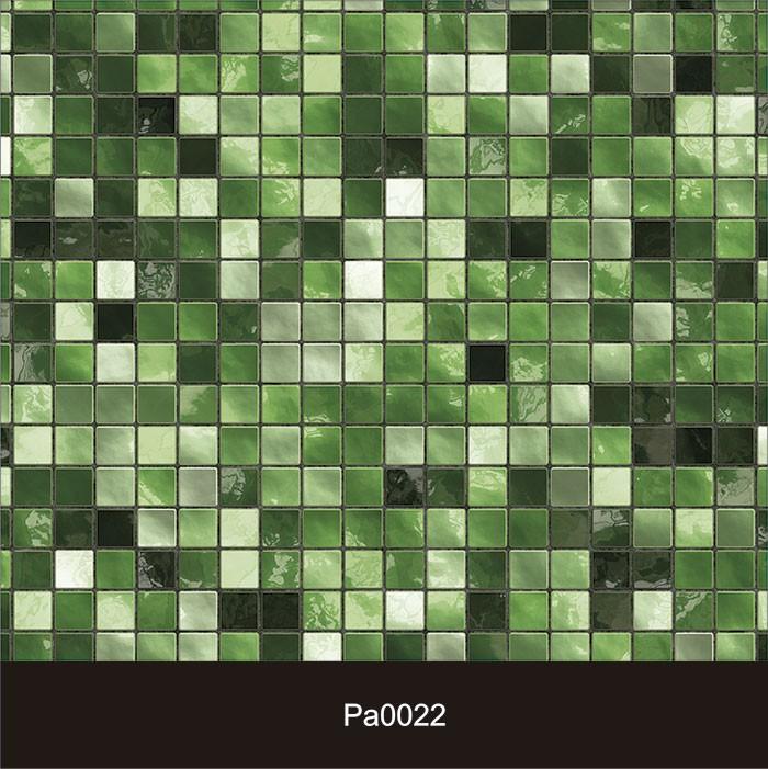 Papel de Parede Auto Adesivo Lavável Pastilha Pa0022 Verde  - Final Decor