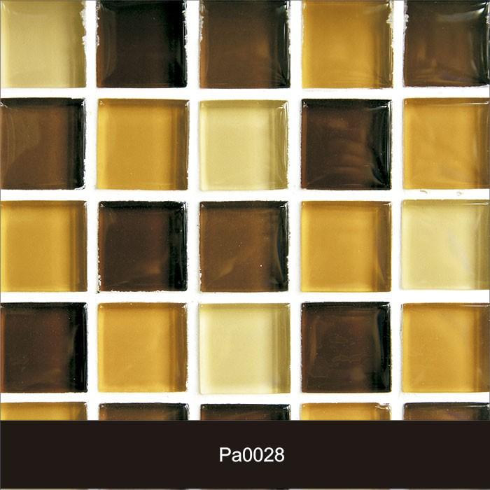 Papel de Parede Auto Adesivo Lavável Pastilha Laranja e Marrom Pa0028  - Final Decor